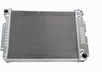"""1962-1967 Chevy Chevy II Nova 3 Row Aluminum CHAMPION RADIATOR /& 16/"""" FAN!!"""