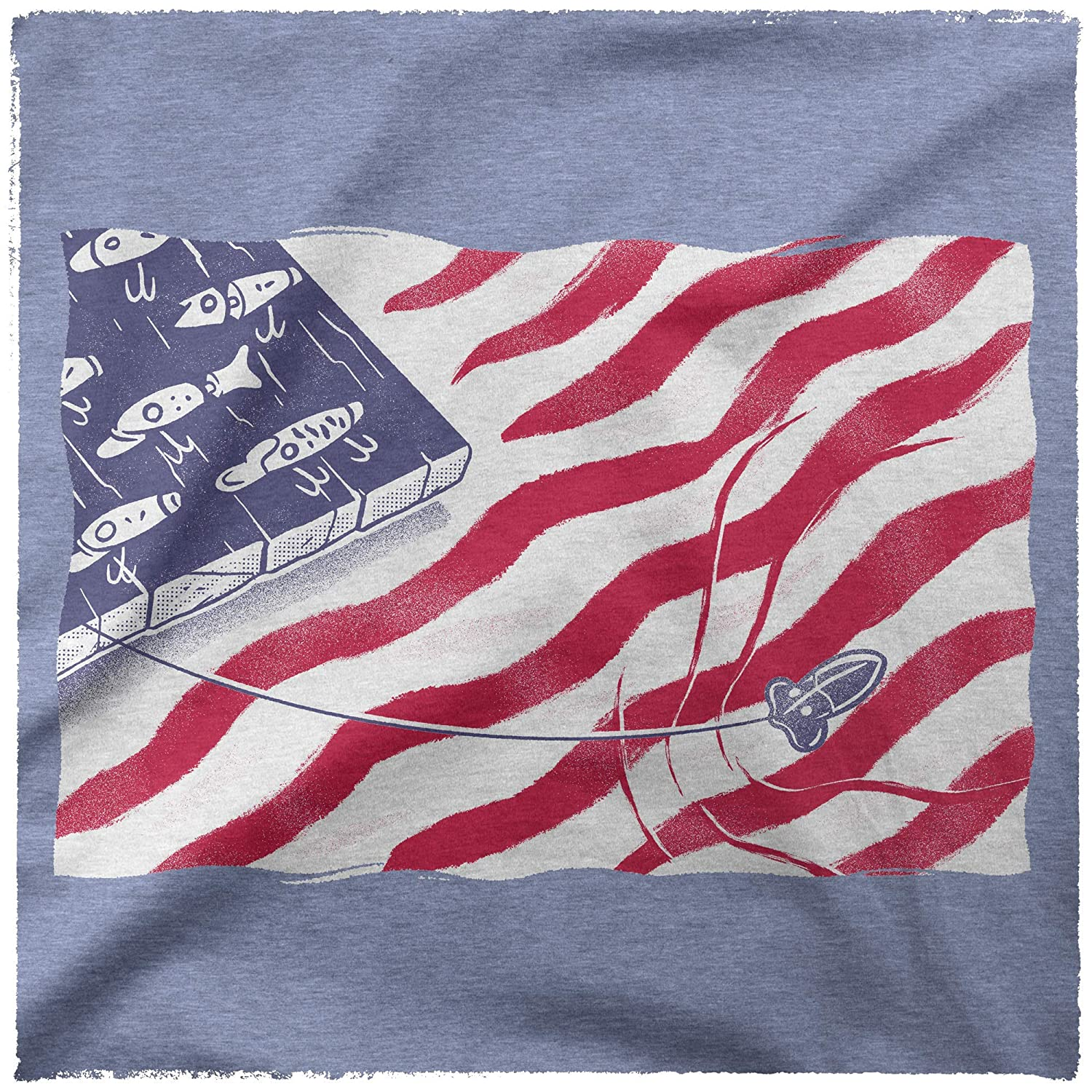 Fishing Gifts for Men Independence Day Brewery Funny T-Shirts for Men Clarks Bait Shop Patriotic Shirts for Men