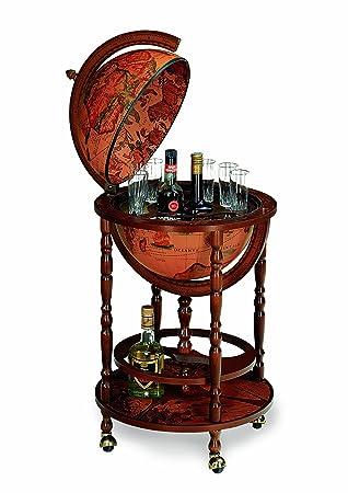Excellent Zoffoli Art 31 Bar Globe Drinks Cabinet Certificate Home Interior And Landscaping Eliaenasavecom