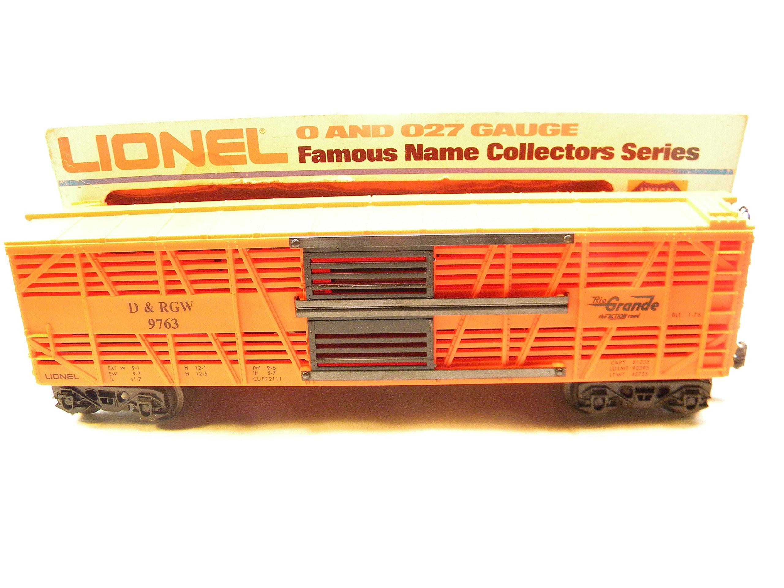 Lionel 9763 D&RGW Rio Grande Double Decker Stock Car