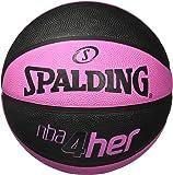 Ballon de Basket-Ball SPALDING NBA 4HER Solid Rose