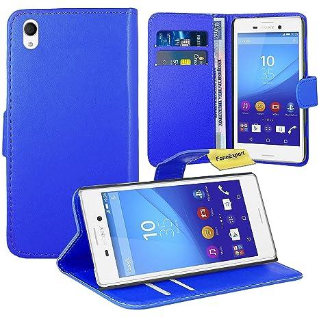 Sony Xperia M4 Aqua Funda, FoneExpert® Wallet Flip Billetera ...