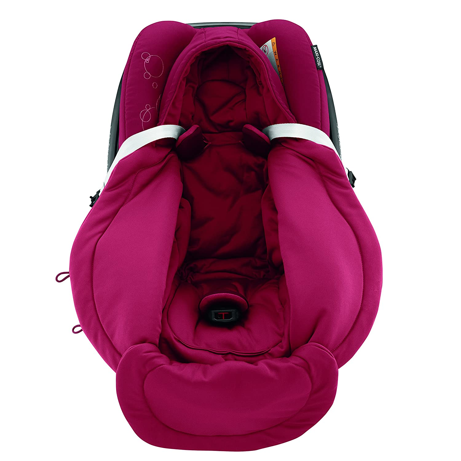 Warm Footmuff Suitable From Birth Maxi-Cosi Winter Footmuff for Baby Car Seats Vivid Red