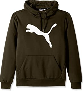 PUMA Mens Essential Fleece Big Cat Hoodie