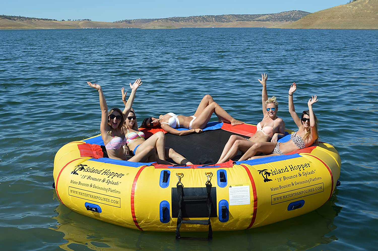 Best Water Trampoline Zone