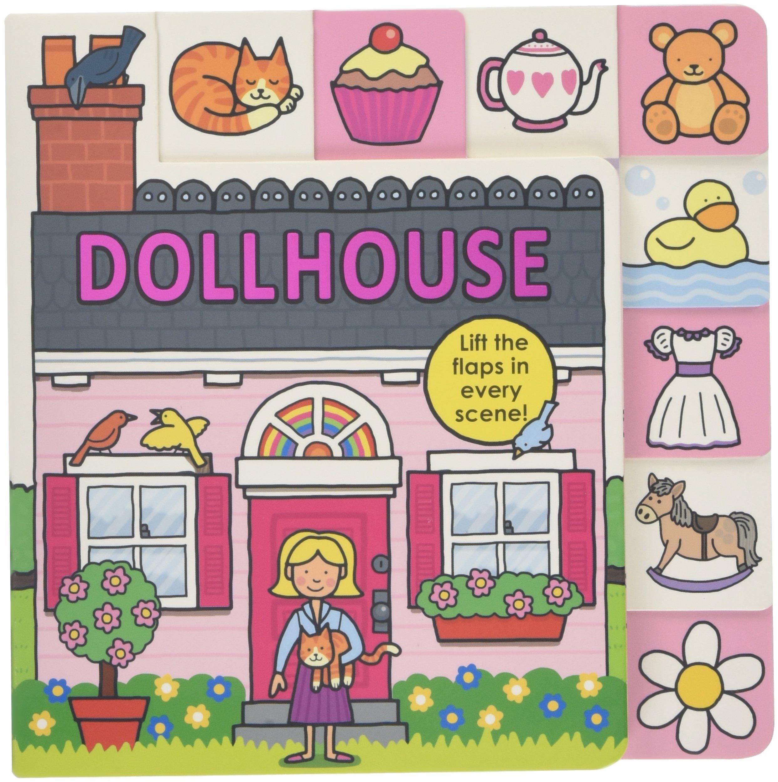 Lift Flap Tab Dollhouse Books