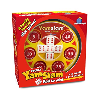 Pocket Yamslam Board Game (Color May Vary): Toys & Games