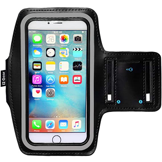 1d6945911 Running and Exercise Workout Armband Case for iPhone 8 7 6 6S Plus Mobile  Cell Phones