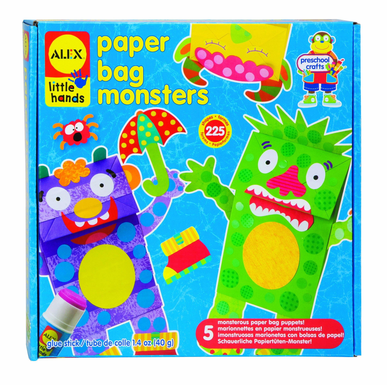 ALEX Toys Little Hands Paper Bag Monsters by ALEX Toys
