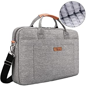[Upgraded Shock-Proof] E-Tree 15.6 inch Laptop Sleeve Handbag for 15 to 15.6 MacBook/Notebook | Ultra Light-Weight Oxford Laptop Shoulder Bag
