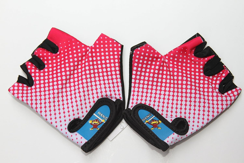 Kids Half-Finger Climbing Gloves for Age 1-10 Boys and Girls Monkey Bars Biki...