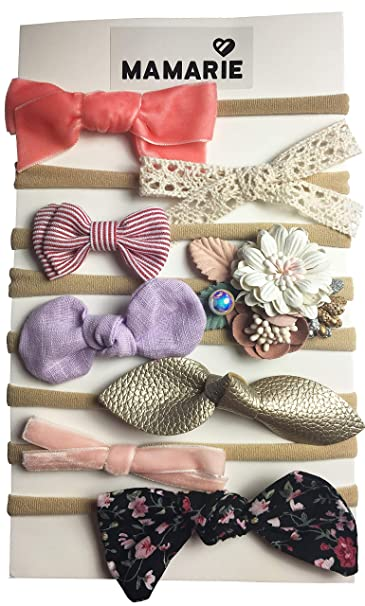 Amazon.com  Baby Girl Headbands and Bows bc490523608