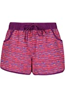 Mountain Warehouse Patterned Women's Boardshorts - Easy Care, Lightweight & Quick Drying with Drawcord - Perfect for Sunbathing After a Quick Dip & Adjustable Waist