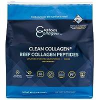 Collagen Peptides Powder 5lb (80oz) Pouch - Clean Collagen® - Unflavored, Grass...