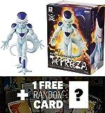 "Frieza: ~7.4"" DragonBall Super Master Stars Piece + 1 FREE Official DragonBall Trading Card Bundle (360134)"