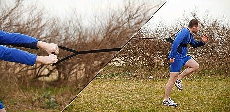 Fitness Health - Arnés de resistencia: Amazon.es: Deportes y aire ...