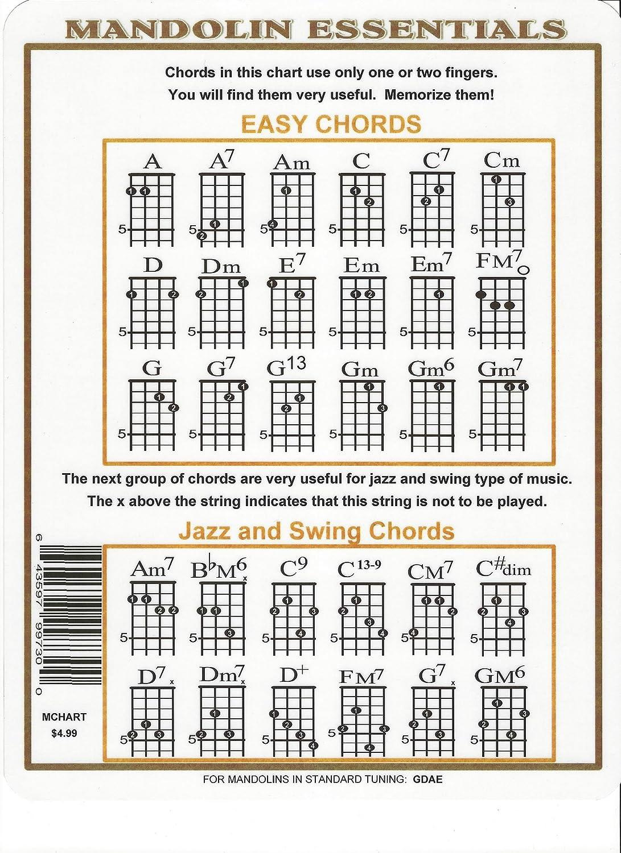 Amazon mandolin chord chart musical instruments hexwebz Images