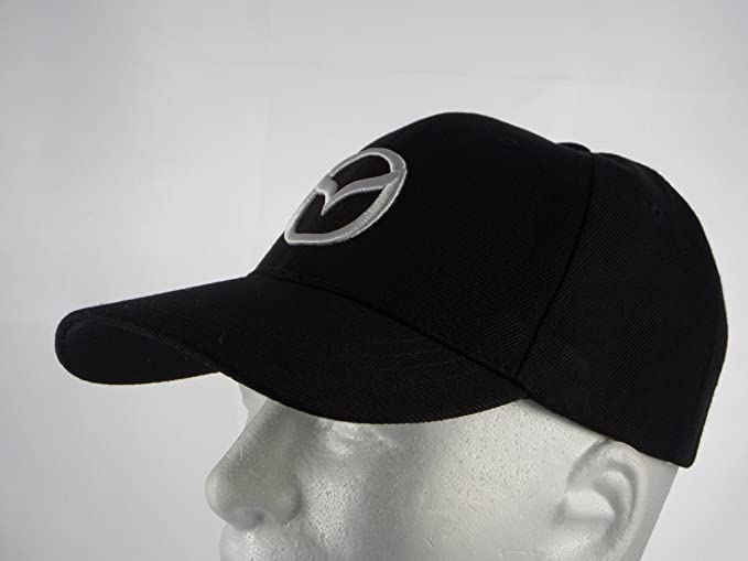 mazda mx5 baseball cap hats new hat black adjustable back amazon men clothing store