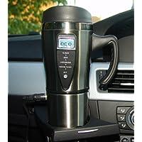 SMART MUG 12 Volt Stainless steel Travel Mug with Built in Heater