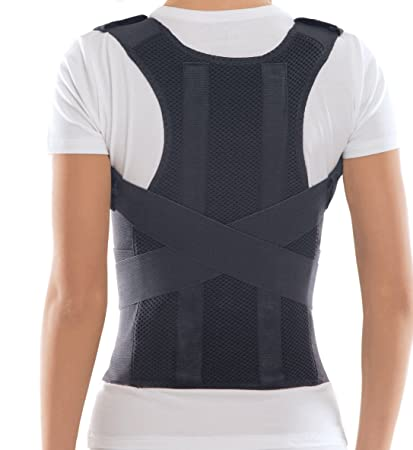 f00e99bc40 TOROS-GROUP Comfort Posture Corrector Shoulder and Back Brace Support  Lumbar Support for Men and