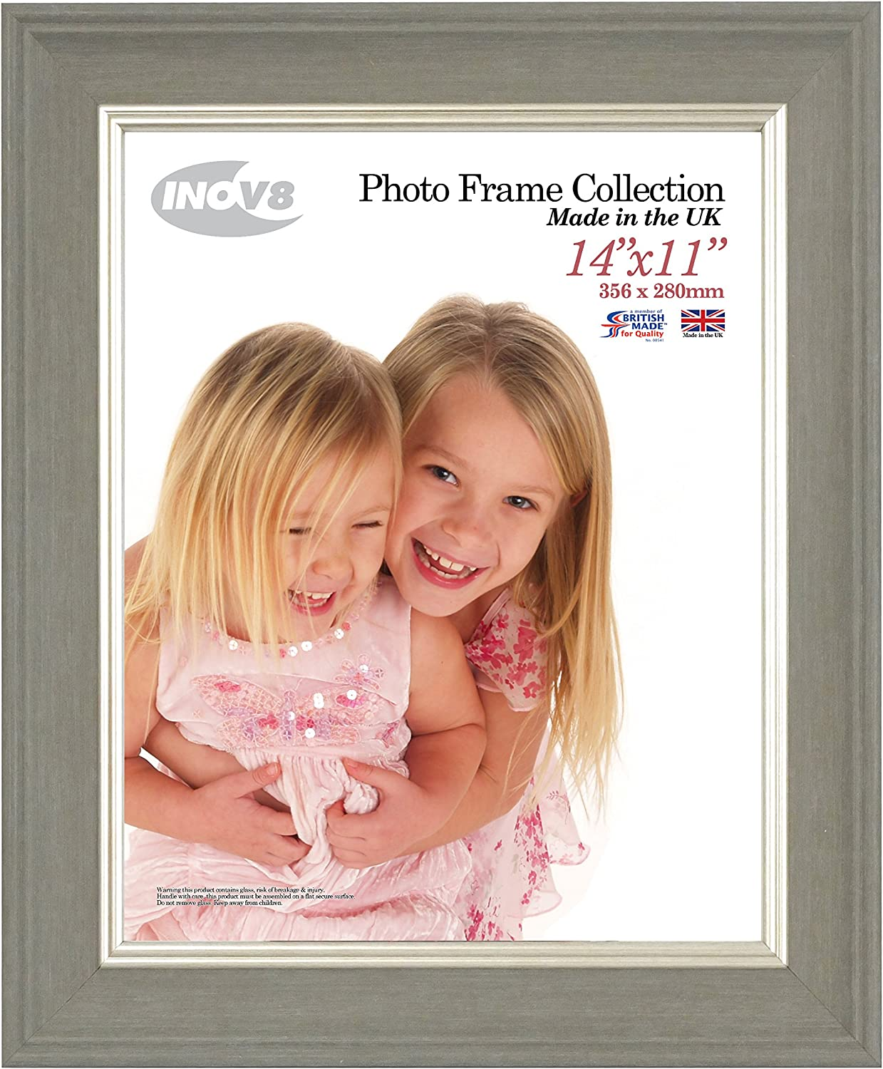 Dark Grey Large Inov8 Framing Photo Frame