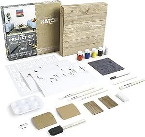 Dremel Hatch Project Kit- Skyline Pallet Art - - Amazon.com