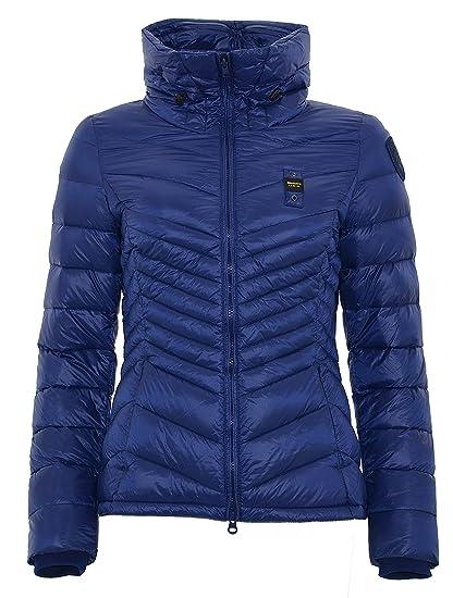 Bleu Blouson Femme Blauer Xx Usa Large Doudoune qv4wwp7I