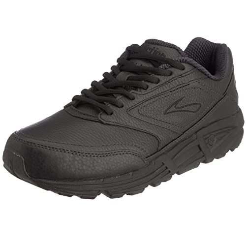 Brooks Men's Addiction Walker Walking Shoe,Black,7 B