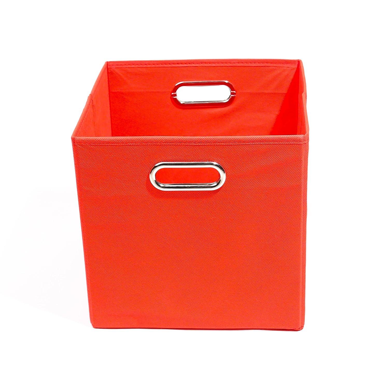 Modern Littles Storage Bin Bold Solid Red BLDSTOR202