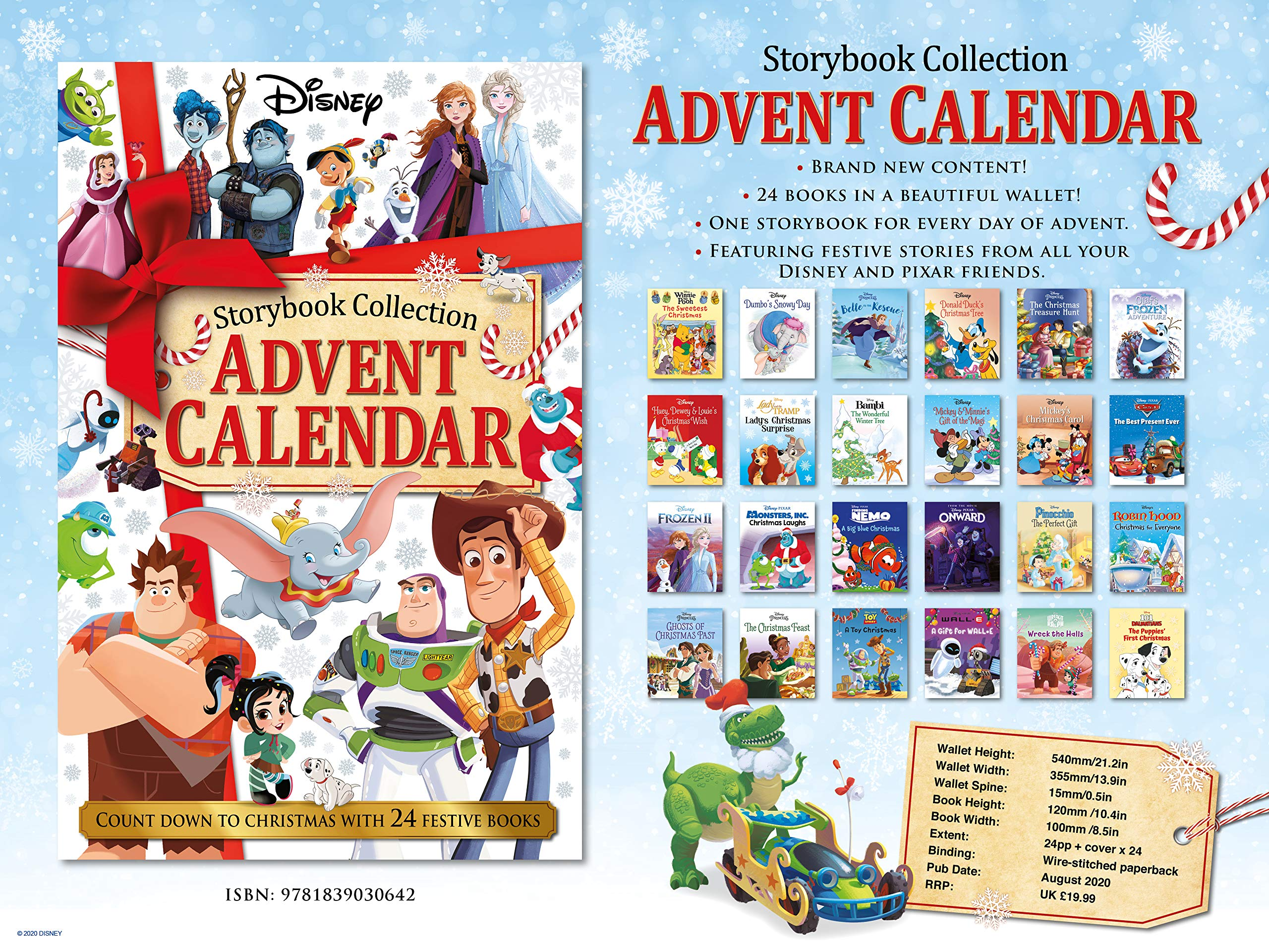Disney: Storybook Collection Advent Calendar 50% OFF £9.99 @ Amazon