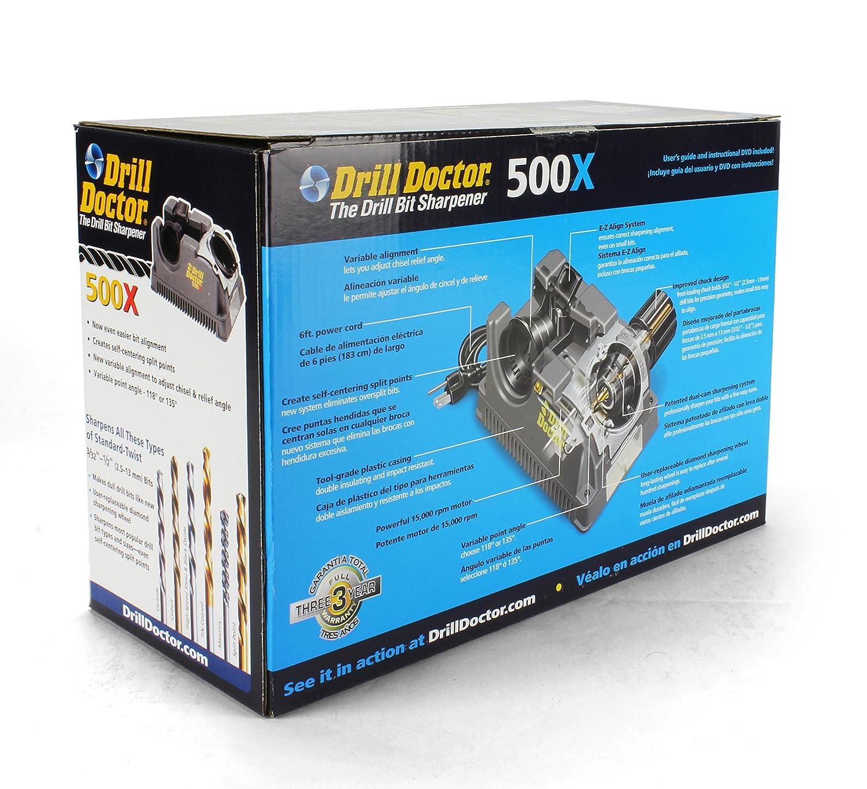Drill Doctor 500x Drill Bit Sharpener, Professional Design ...