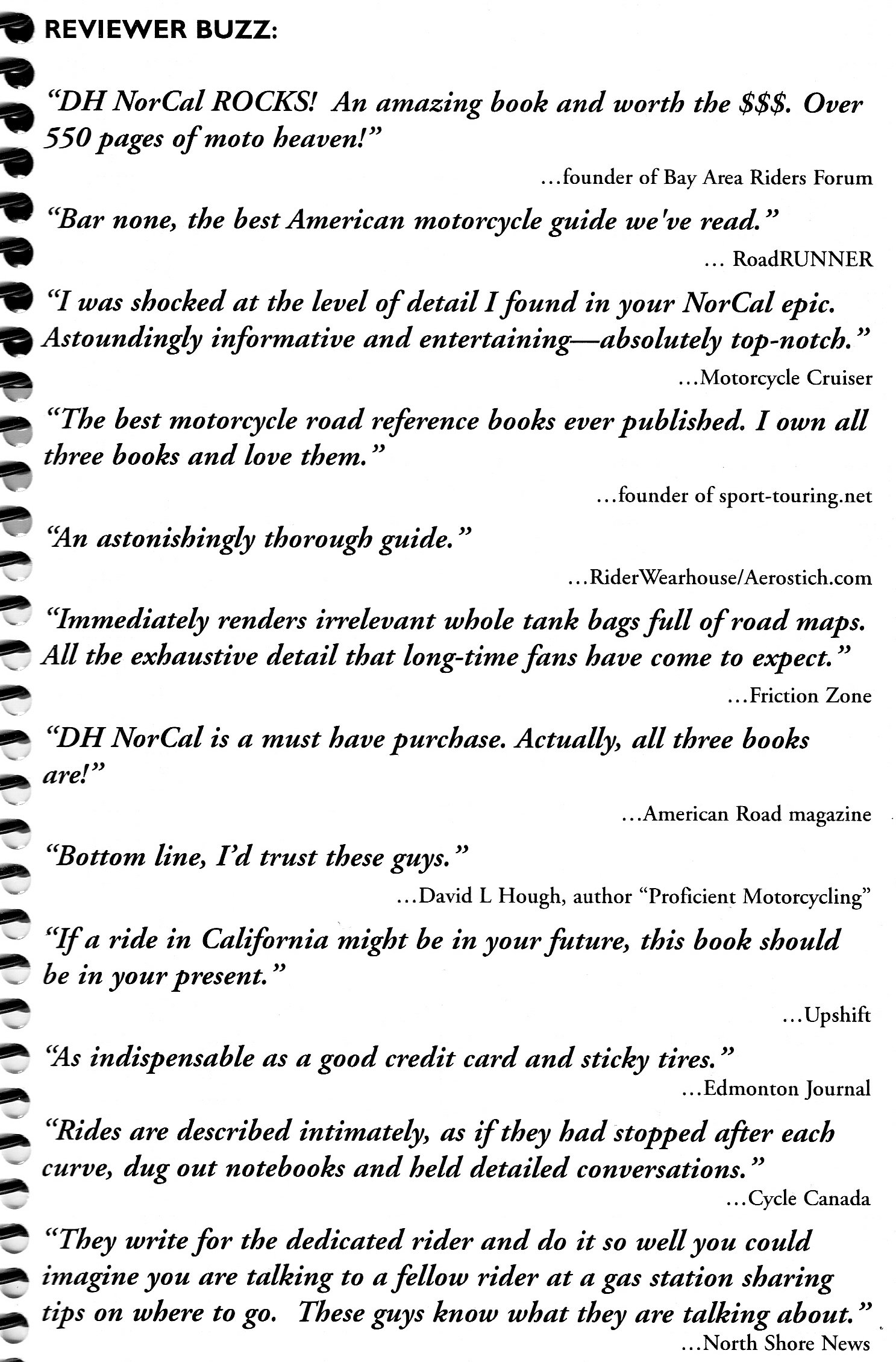 Northern California: A Motorcycle Enthusiast's Guide To The Best 334  Roads In Northern California: Brian Bosworth: 9780968432822: Amazon:  Books