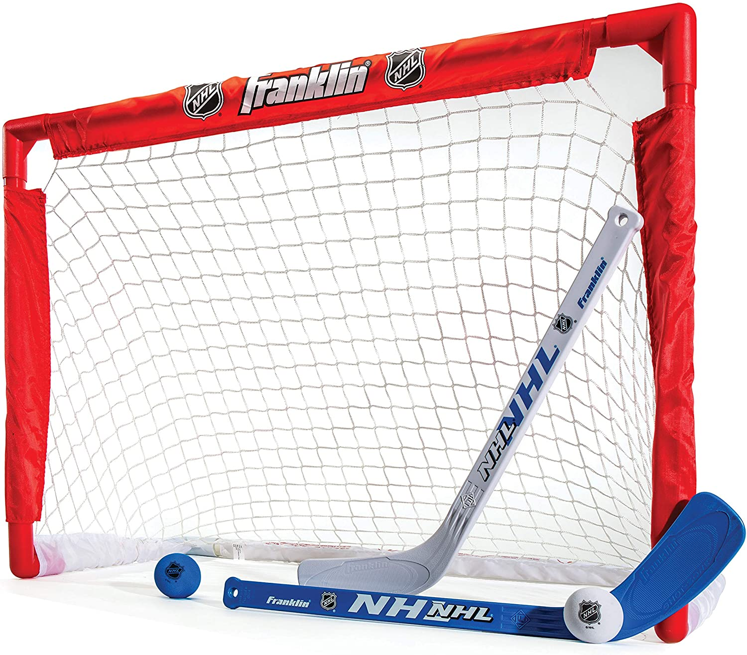 Franklin NHL Street Hockey Goal, Stick and Ball Set : Knee Hockey : Sports & Outdoors