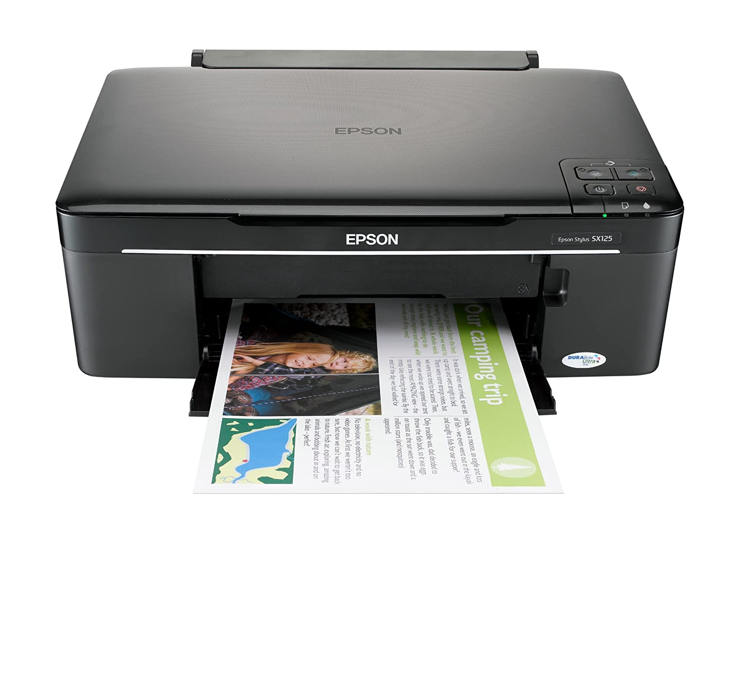Epson Stylus SX125 All-in-One (Print, Scan, Copy) Printer