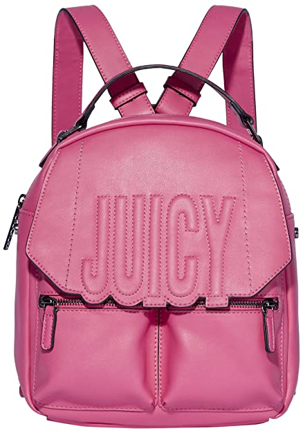 Juicy by Juicy Couture Women s Bella Backpack Handbag Pink (Palladium)   Amazon.co.uk  Shoes   Bags 2a0e3a832c