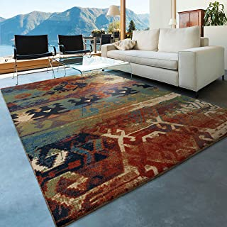 "product image for Orian Rugs Mardi Gras Elk River Area Rug, 5'3"" x 7'6"", Multicolor"