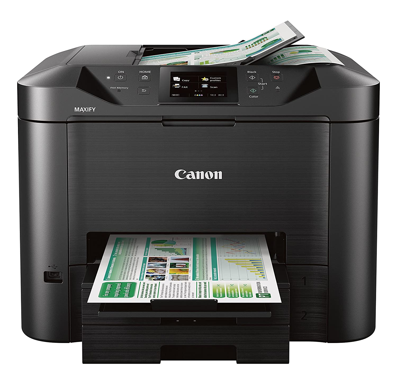 Canon Office and Business MB5420 Wireless All-in-One Printer,Scanner, Copier and Fax, with Mobile and Duplex Printing Canon USA Inc.