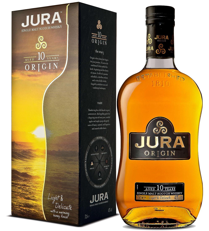 Jura Origin 10Y Whisky de Malta Escocés - 700 ml: Amazon.es: Alimentación y bebidas