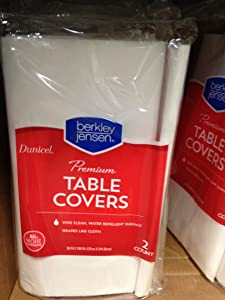 Berkley & Jensen Dunicel Tablecover (pack of 2)