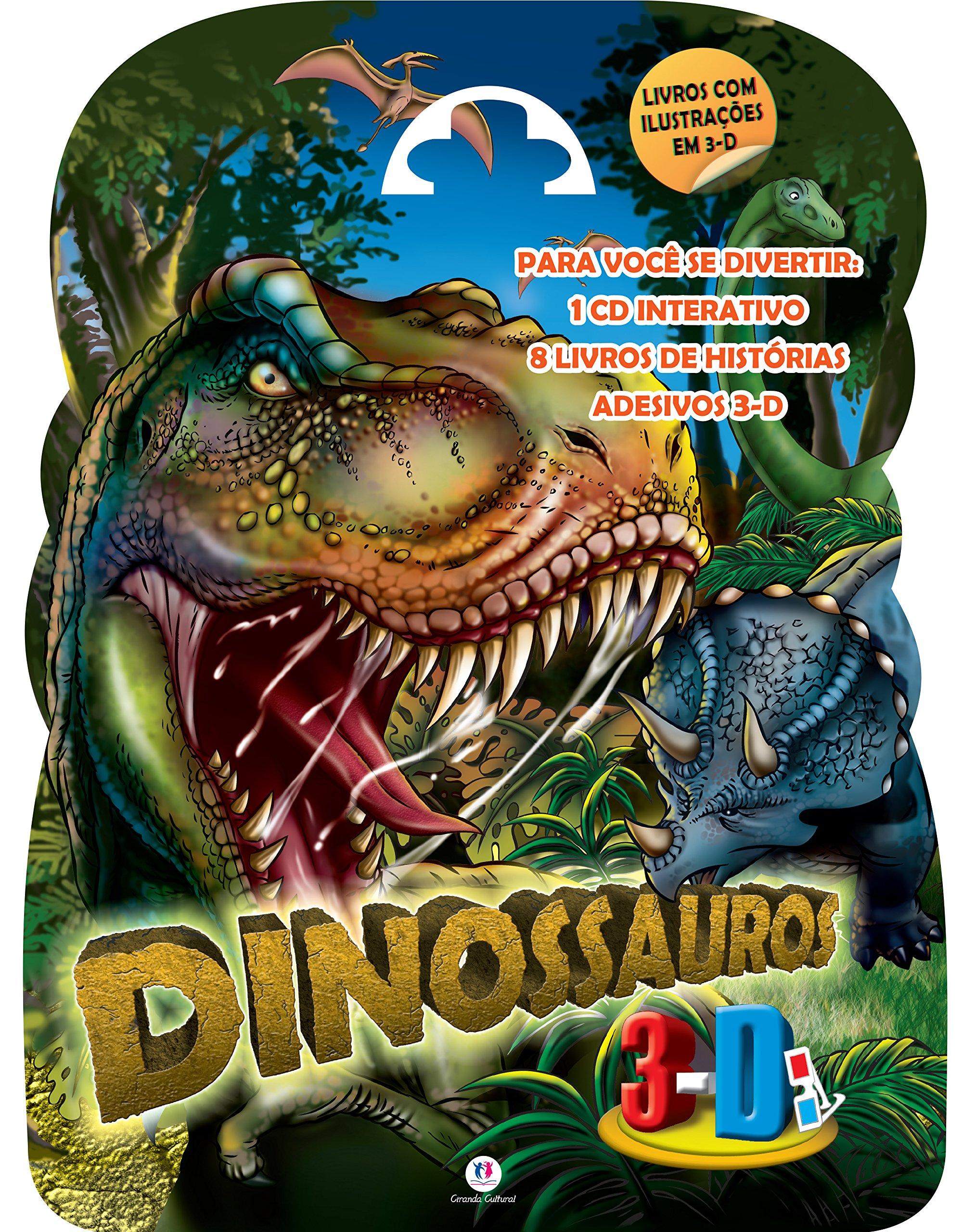 Dinossauros 3d (Portuguese Brazilian) Pamphlet – 2009