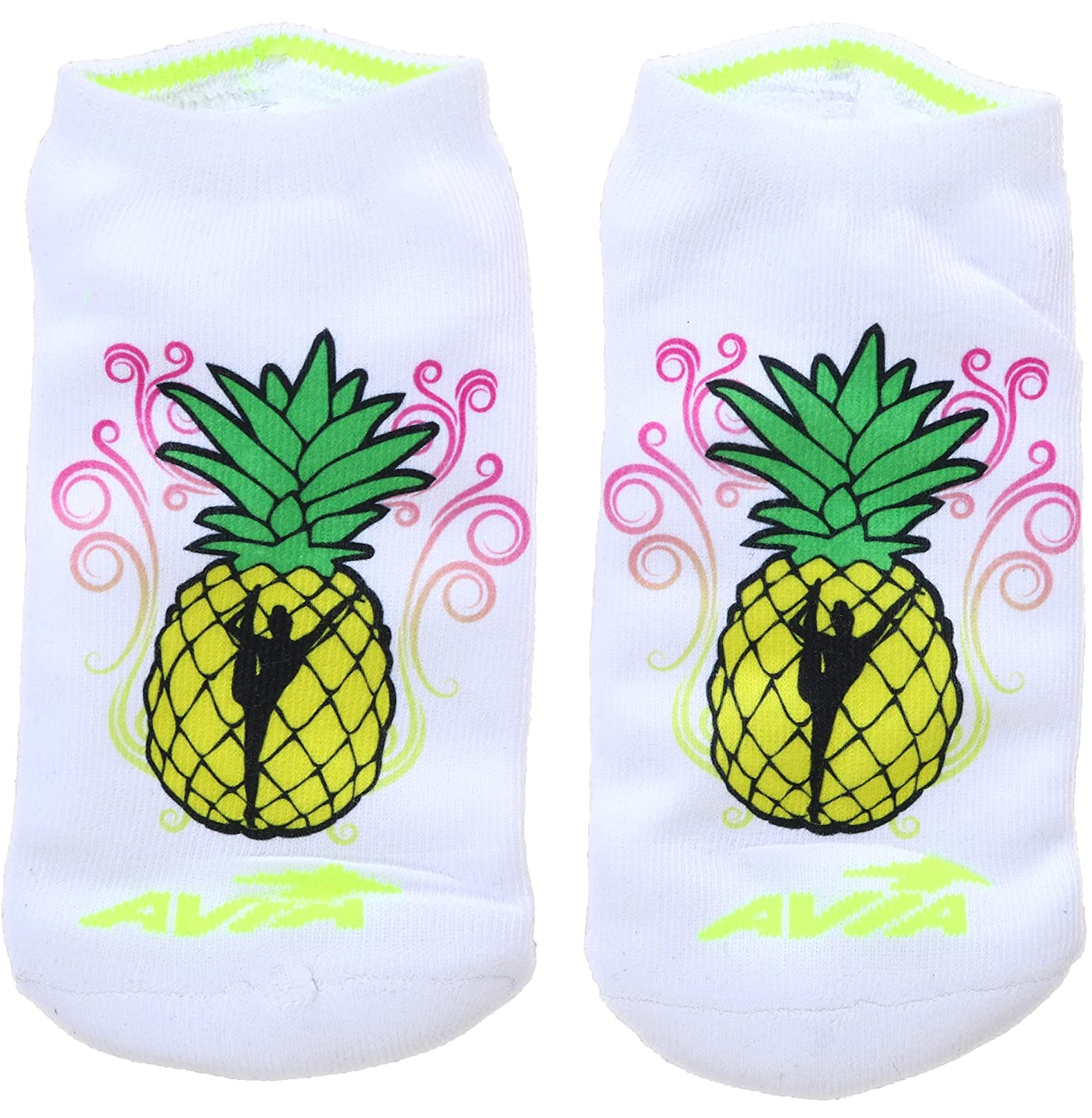 Many Styles Available Snowflake Designs Gymnastics Printed Socks