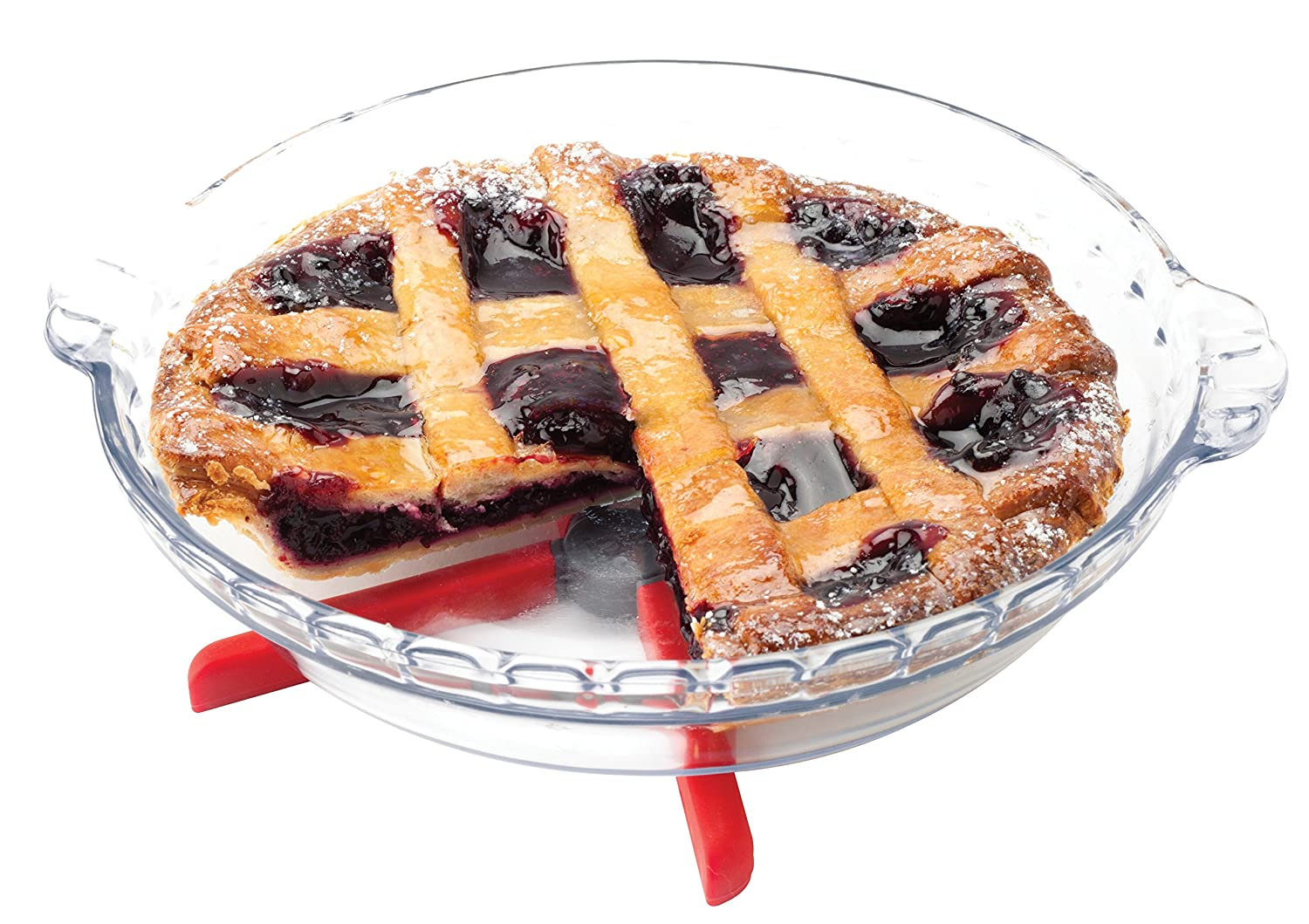 7-Inch Harold Import Company Inc. 43721CH HIC Essentials Cherry Honeycomb Silicone Trivet HIC Harold Import Co
