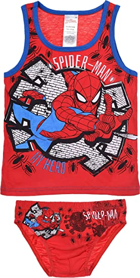 Spiderman Bambino Canottiere
