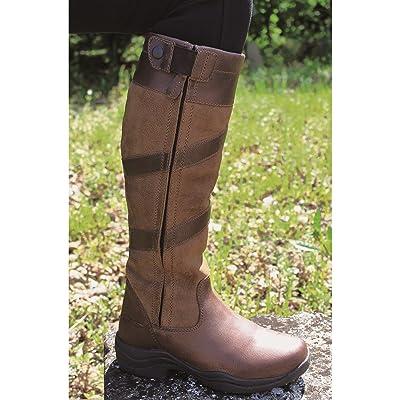 Mark Todd imperméable haut zip bottes marron