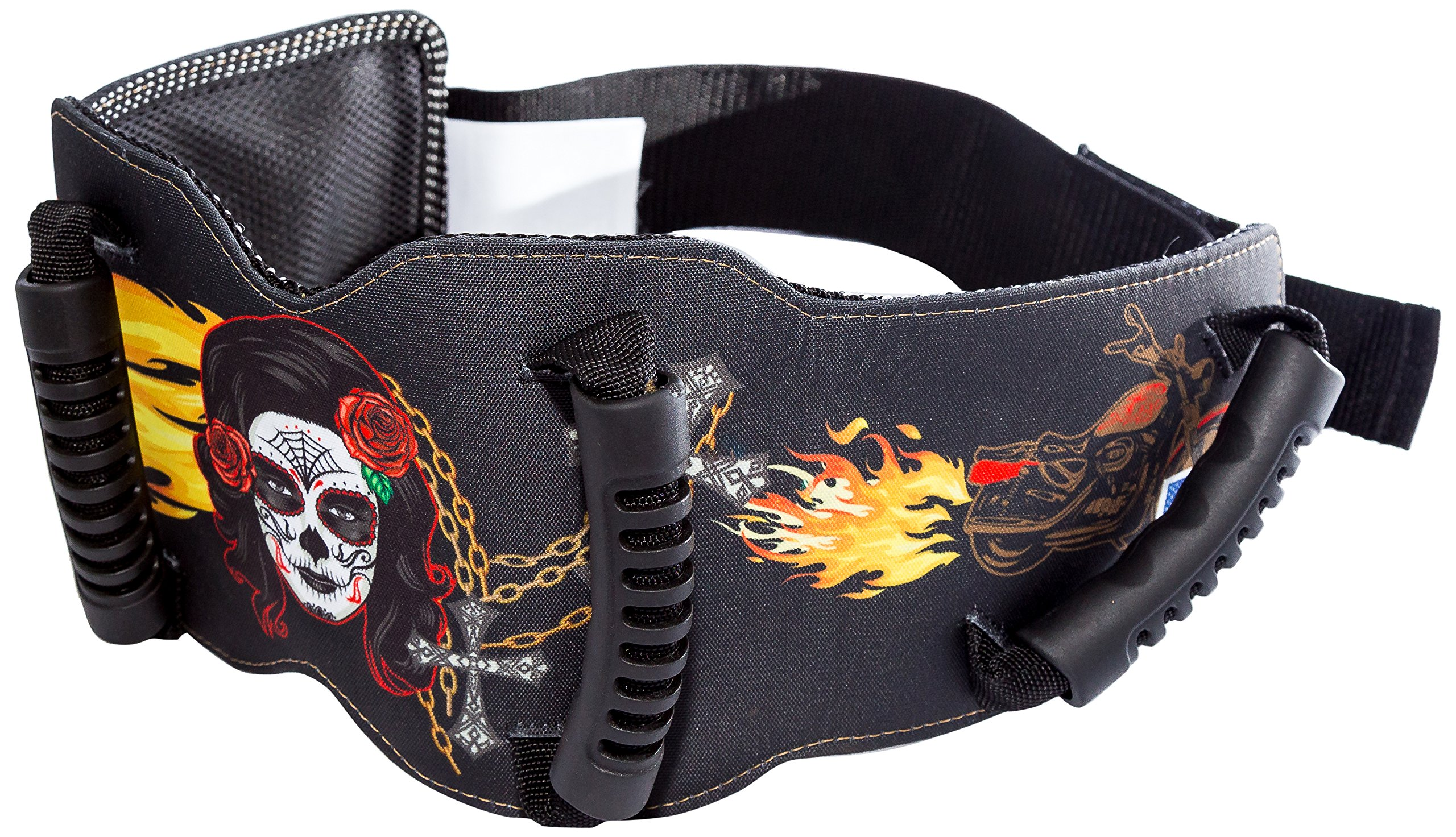 Grip-n-Ride Street Art Collection Lady of the Dead Belt (One Size)