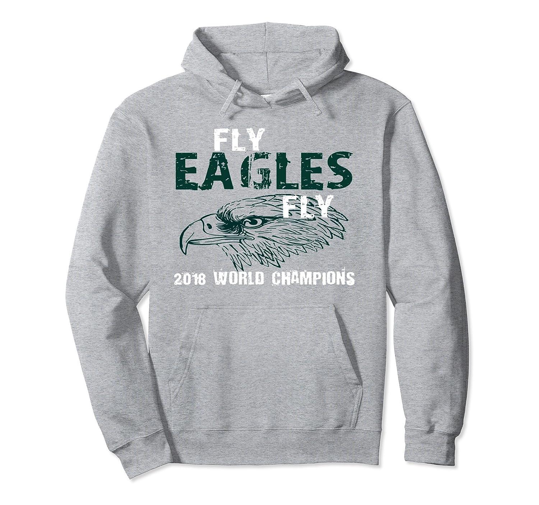Eagles ~ Fly Eagles Fly ~ Vintage 2018 Hoodie~ Men, Women-AZP