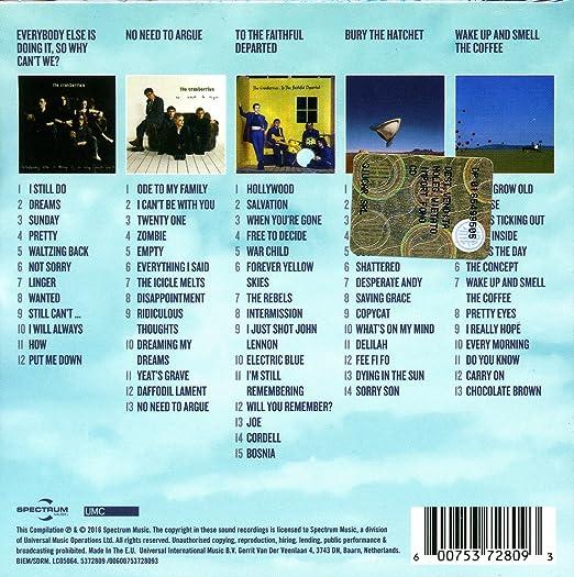 The Cranberries - 5 Classic Albums - Amazon.com Music