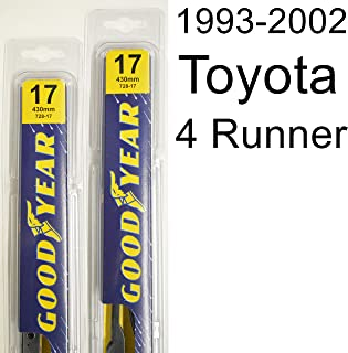 "product image for Toyota 4 Runner (1993-2002) Wiper Blade Kit - Set Includes 17"" (Driver Side), 17"" (Passenger Side) (2 Blades Total)"