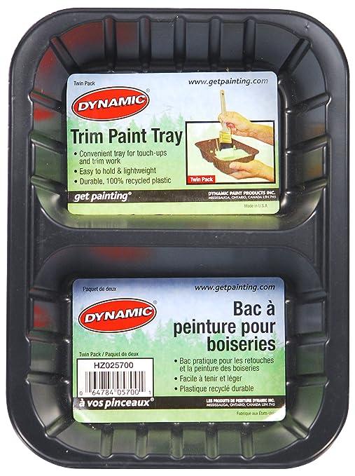 Dinámico Enviro Paintware hz025700 Enviro embellecedor de plástico reciclado bandeja de pintura (, 2 unidades