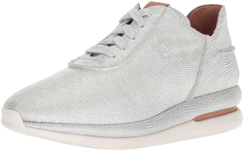Gentle Souls Women's Raina Lace-up Fashion Jogger Sneaker B07845KGZD 6.5 B(M) US|White/Silver